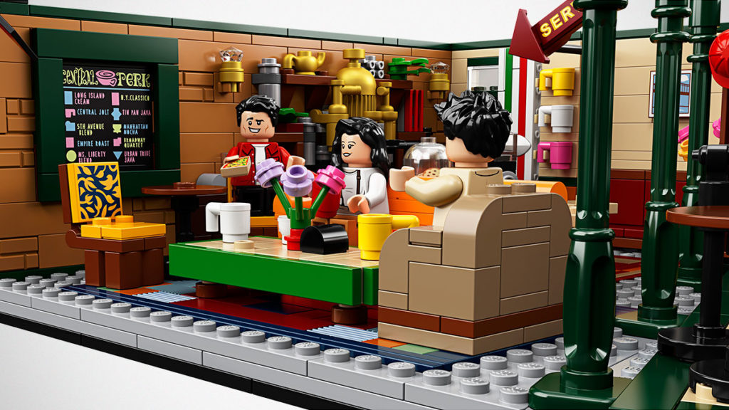 LEGO Ideas 21319 Central Perk Set