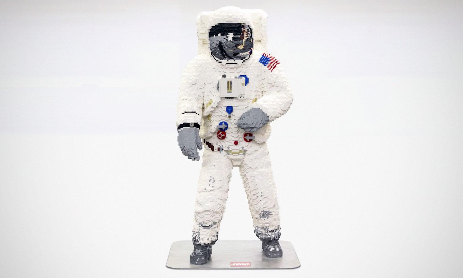 LEGO Life-size Apollo 11 Astronaut