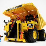 Sariel's Latest Creation Is A Massive RC LEGO Caterpillar Dump Truck That Weighs Over 9 Pounds