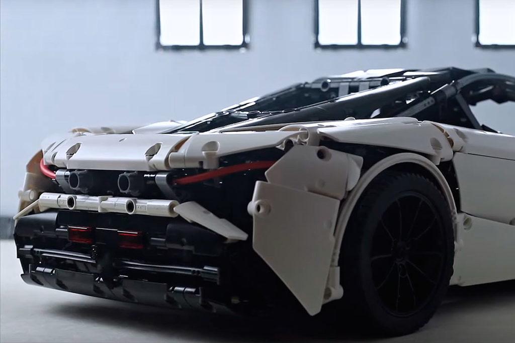 LEGO Technic MOC 1:8 McLaren 720S