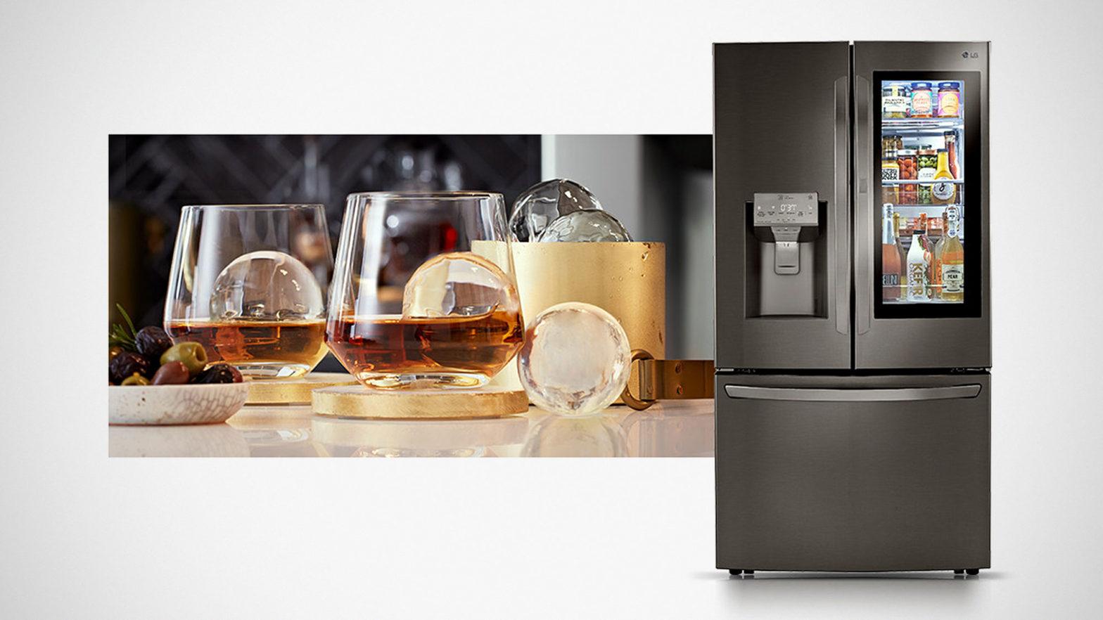 LG InstaView Refrigerators with Craft Ice