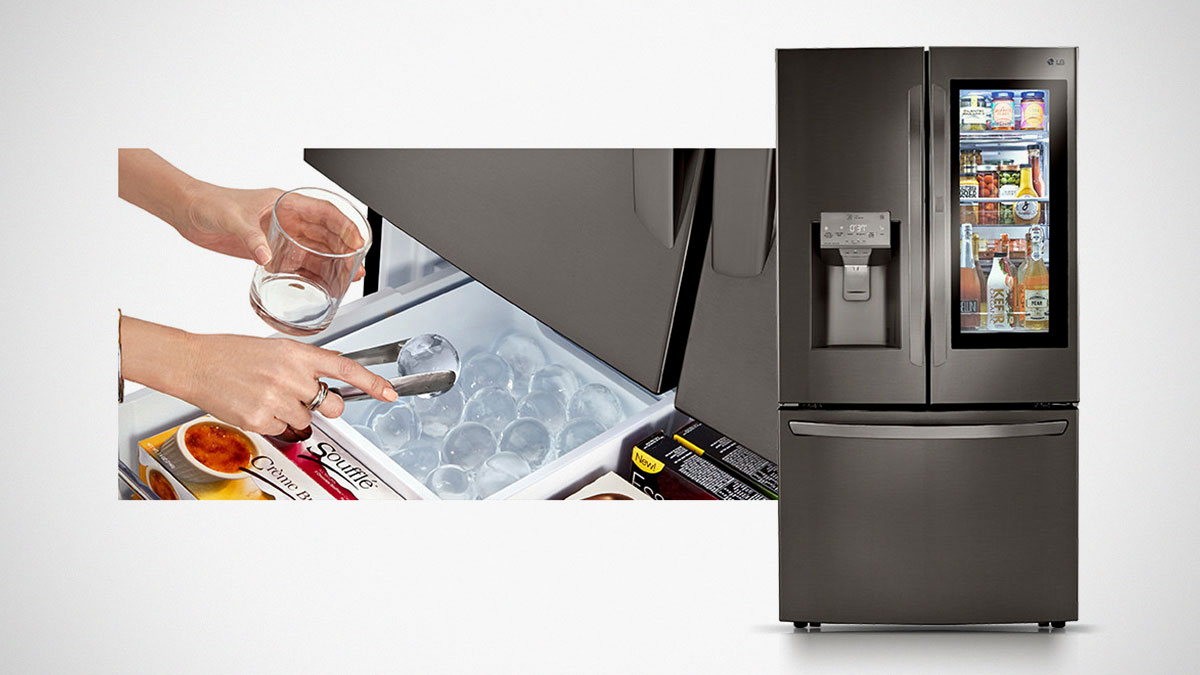 LG InstaView Refrigerators with Craft Ice