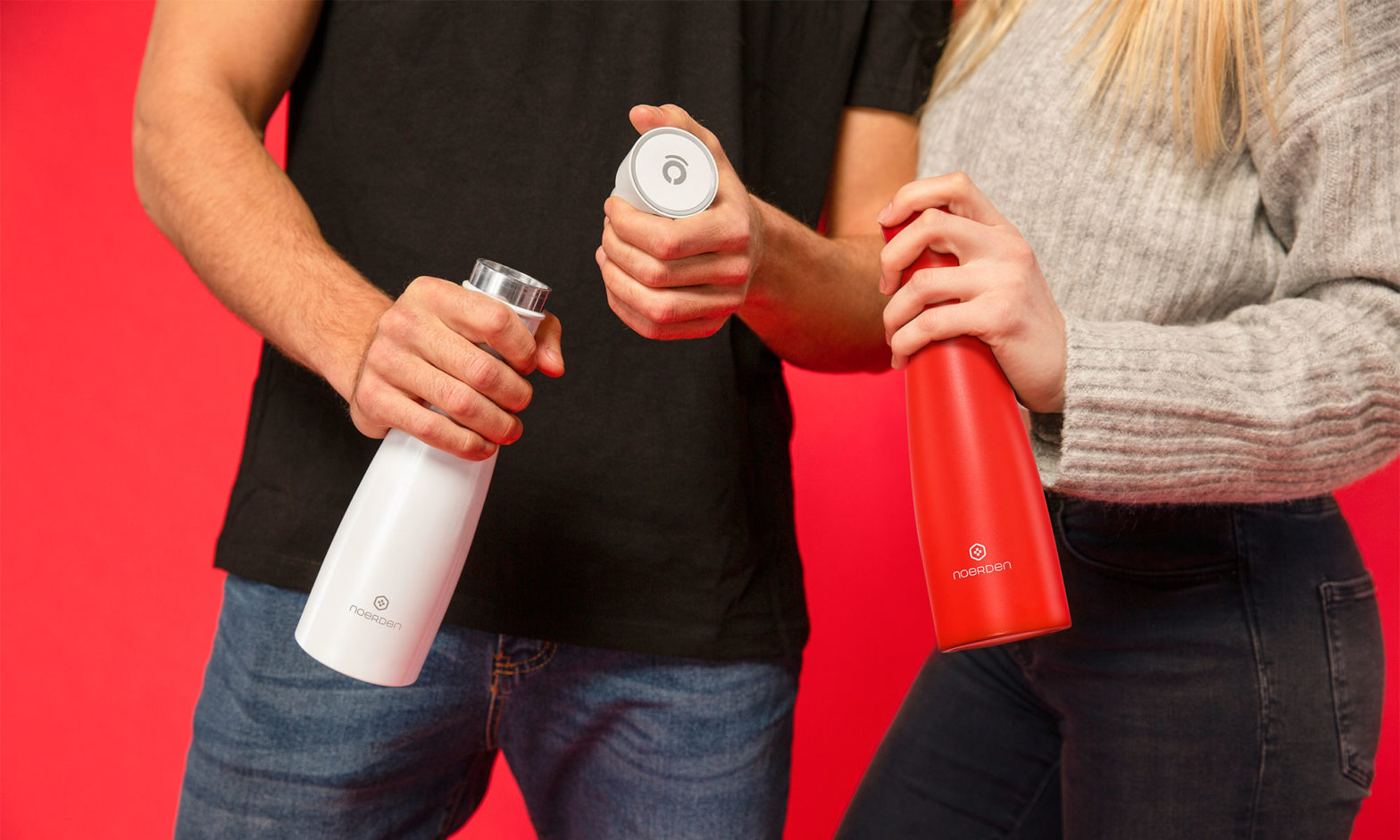 LIZ Smart Self-cleaning Bottle