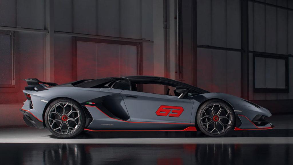 Lamborghini Limited Edition Aventador SVJ 63 Roadster
