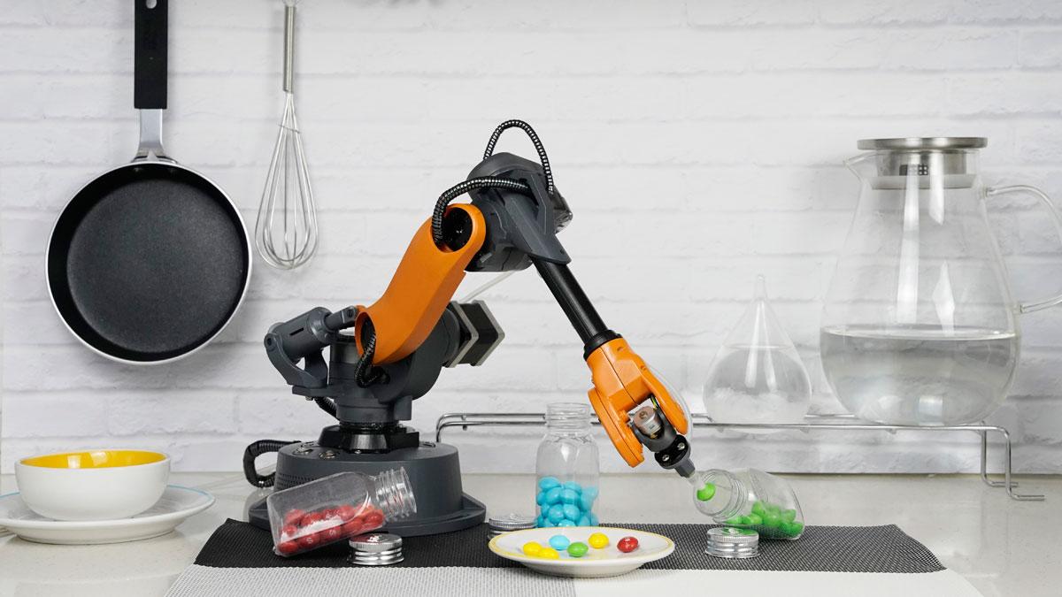 Mirobot 6-axis Mini Robotic Arm