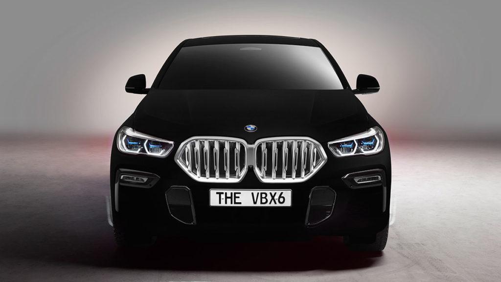 One-off BMW X6 SUV In Vantablack