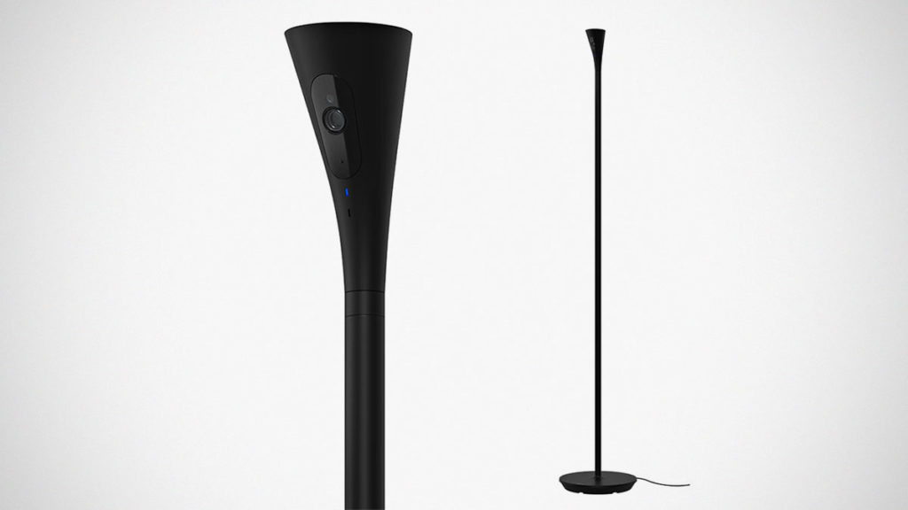 Panasonic HomeHawk Security Camera Floor Lamp