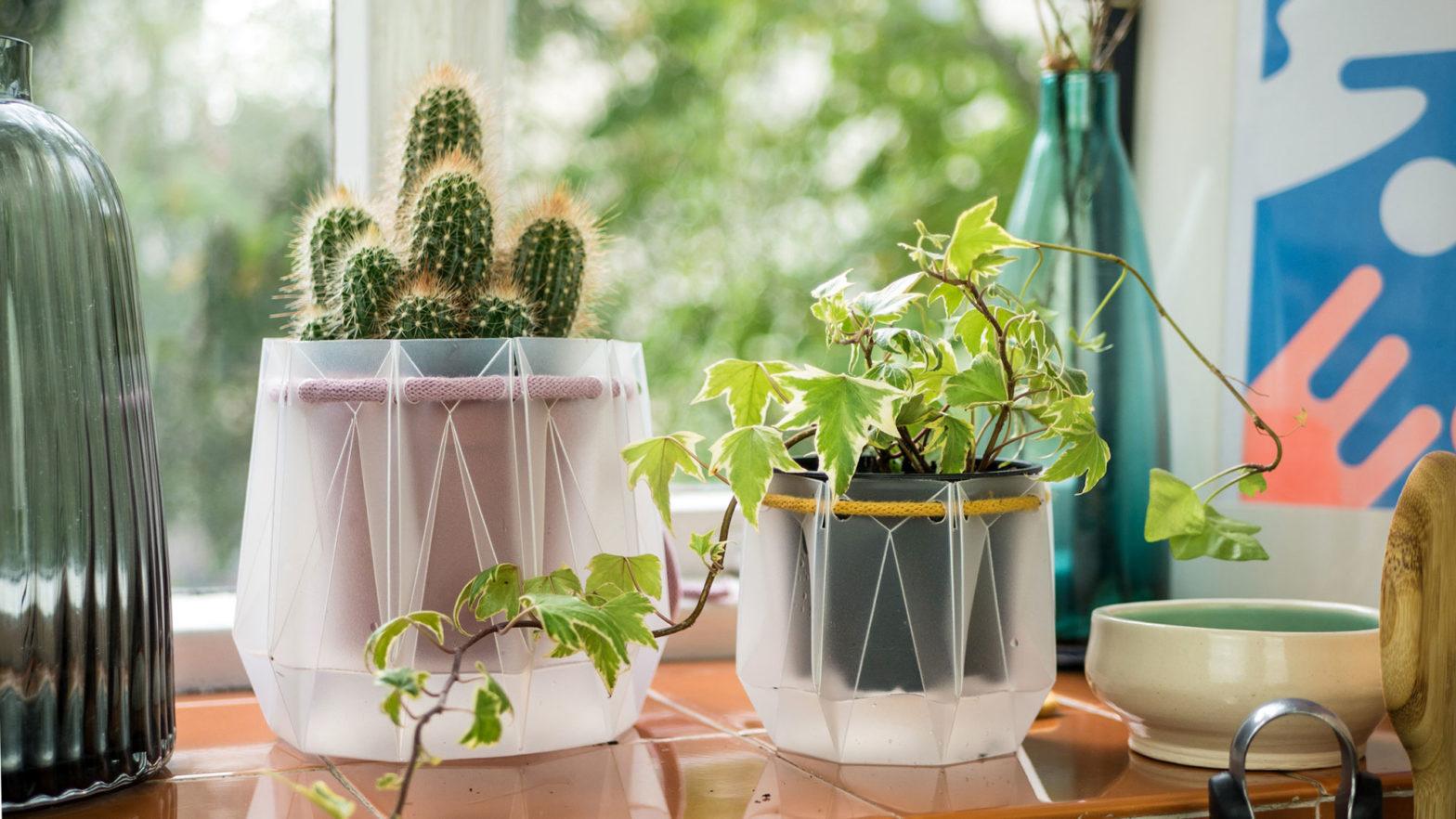Potr Self-watering Origami Plant Pots