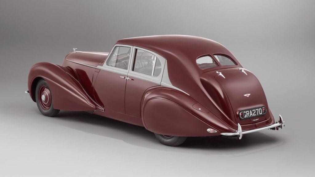 Rebuilt 1939 Bentley Corniche by Mulliner