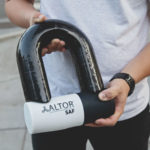 SAF Lock Is An Angle Grinder-Proof Bike Lock With A Shackle That Looks Straight Out Of A Cartoon