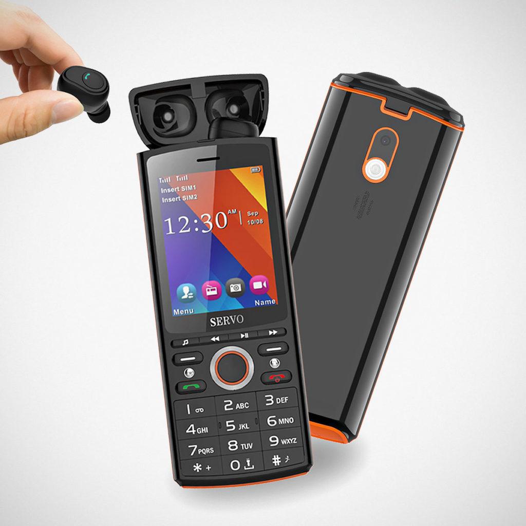 Servo R25 Bluetooth Music Cellphone