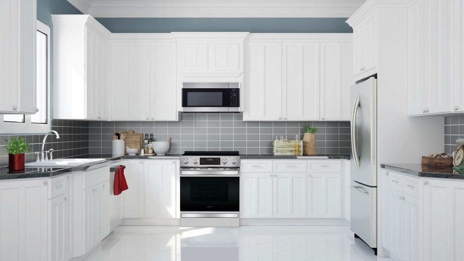 Sharp Full Built-in Kitchen Suite