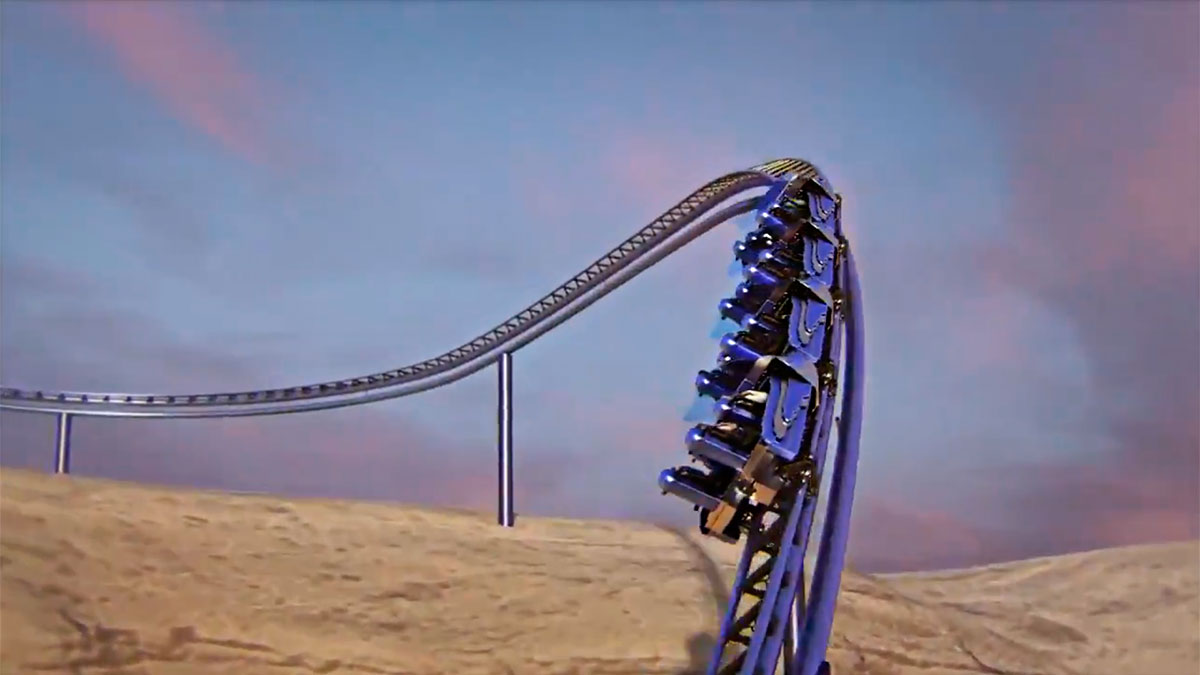 Six Flags Qiddiya Theme Park Unveiled