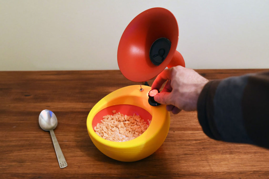 Snap Crackle and Pop Amplification Cereal Bowl