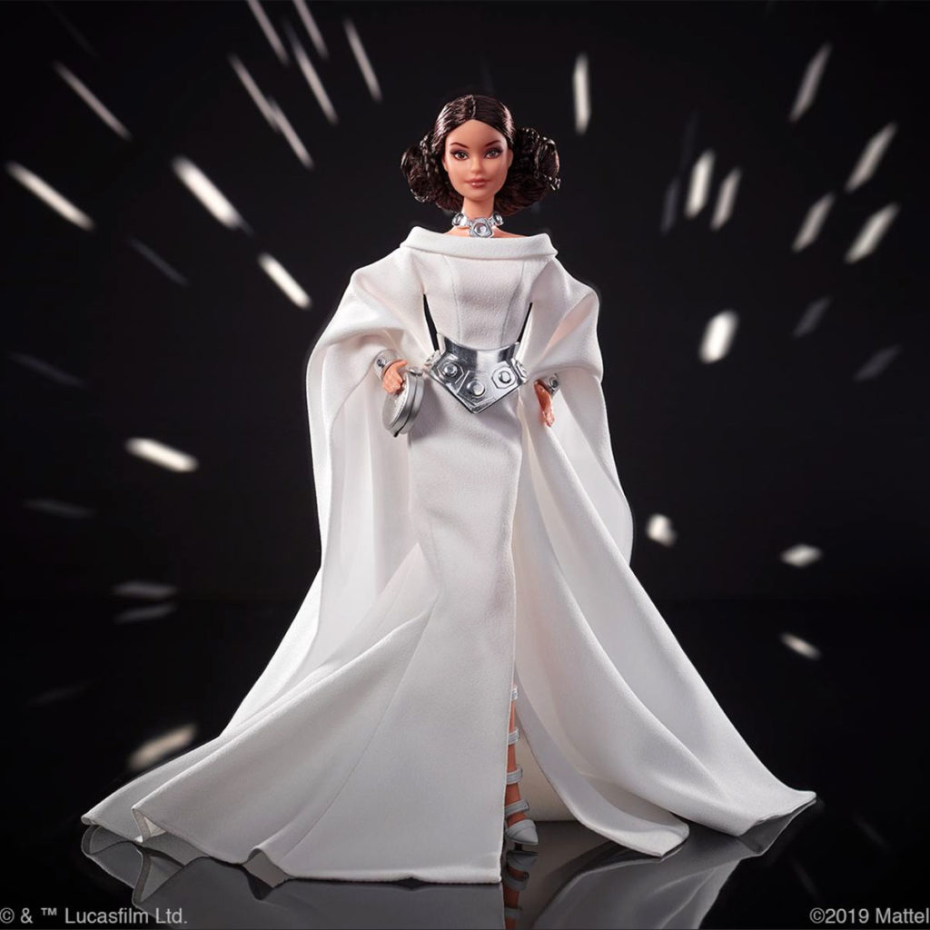 Star Wars Barbie Dolls by Mattel
