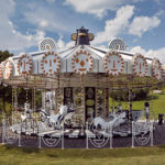 Swarovski Theme Park Has A Whimsical Carousel Decorated With 15 Million Swarovski Crystals