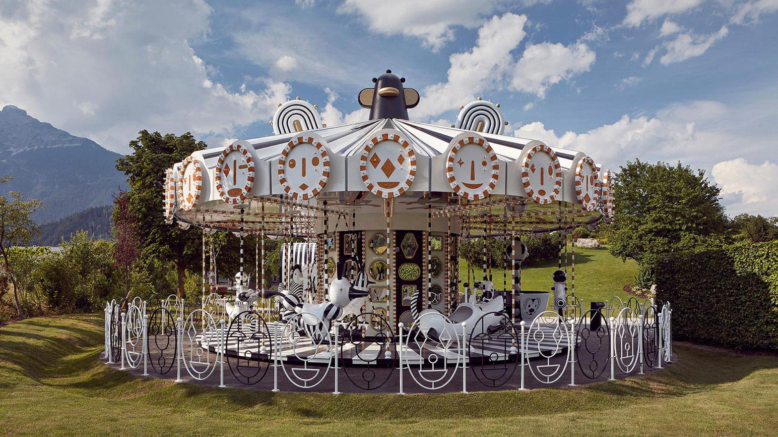 Swarovski Kristallwelten Crystallized Carousel