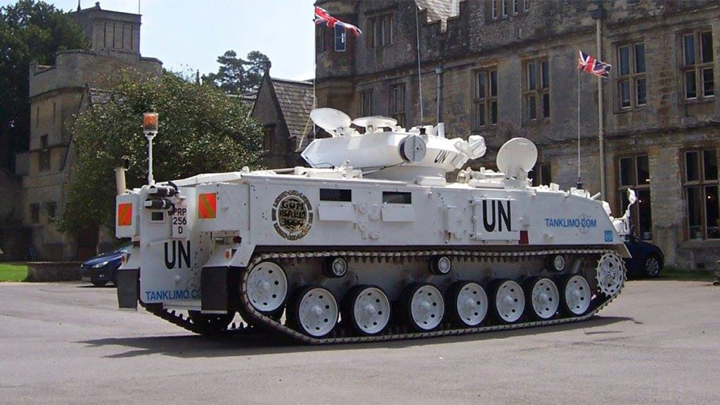 Tanks-Alot Stretched Tank Limo
