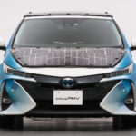 New Model Toyota Prius PHV With Solar Charging System Being Tested In Japan