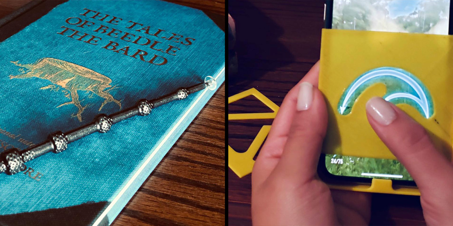 Wand Styluses and Spell Trace Stencils for Harry Potter: Wizards Unite