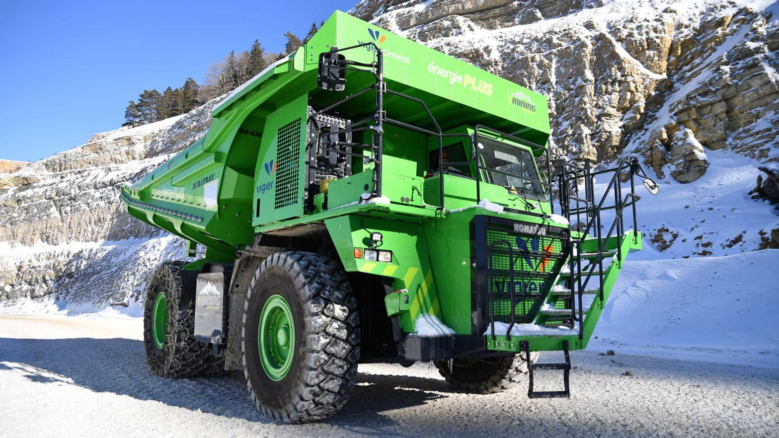 eMining AG Electric Dump Truck