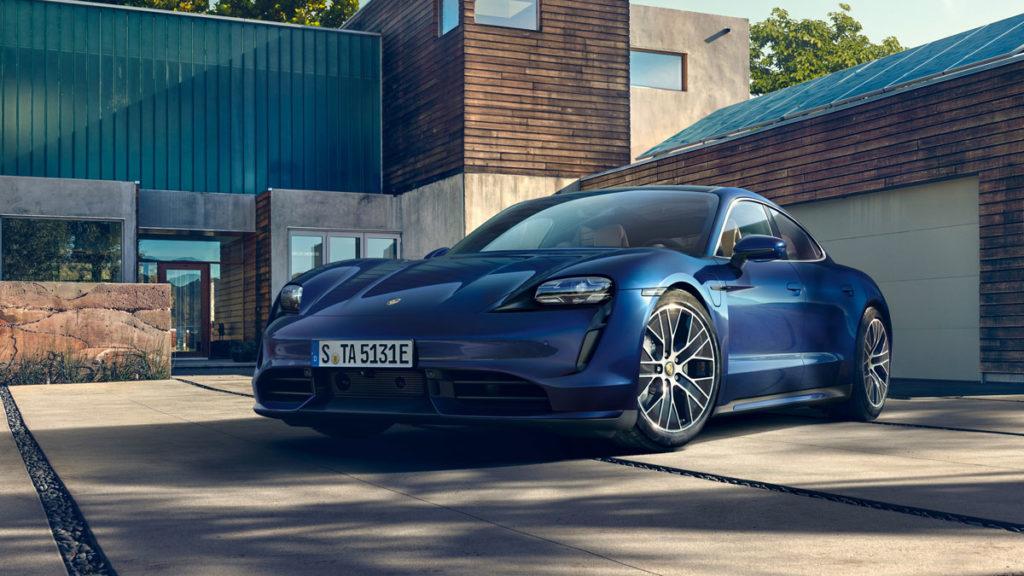 2020 Porsche Taycan Electric Vehicle