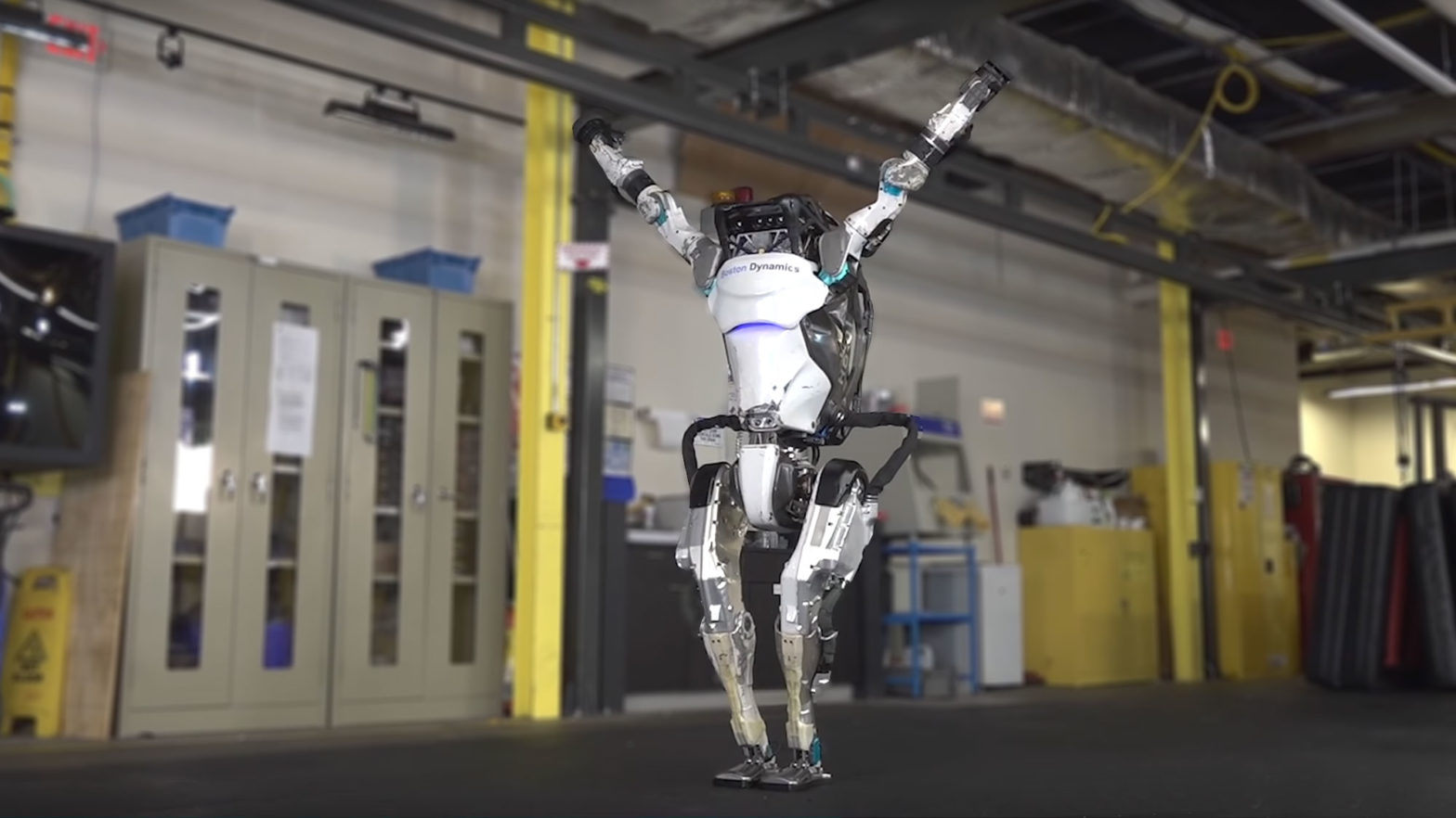 Boston Dynamics Atlas More Parkour