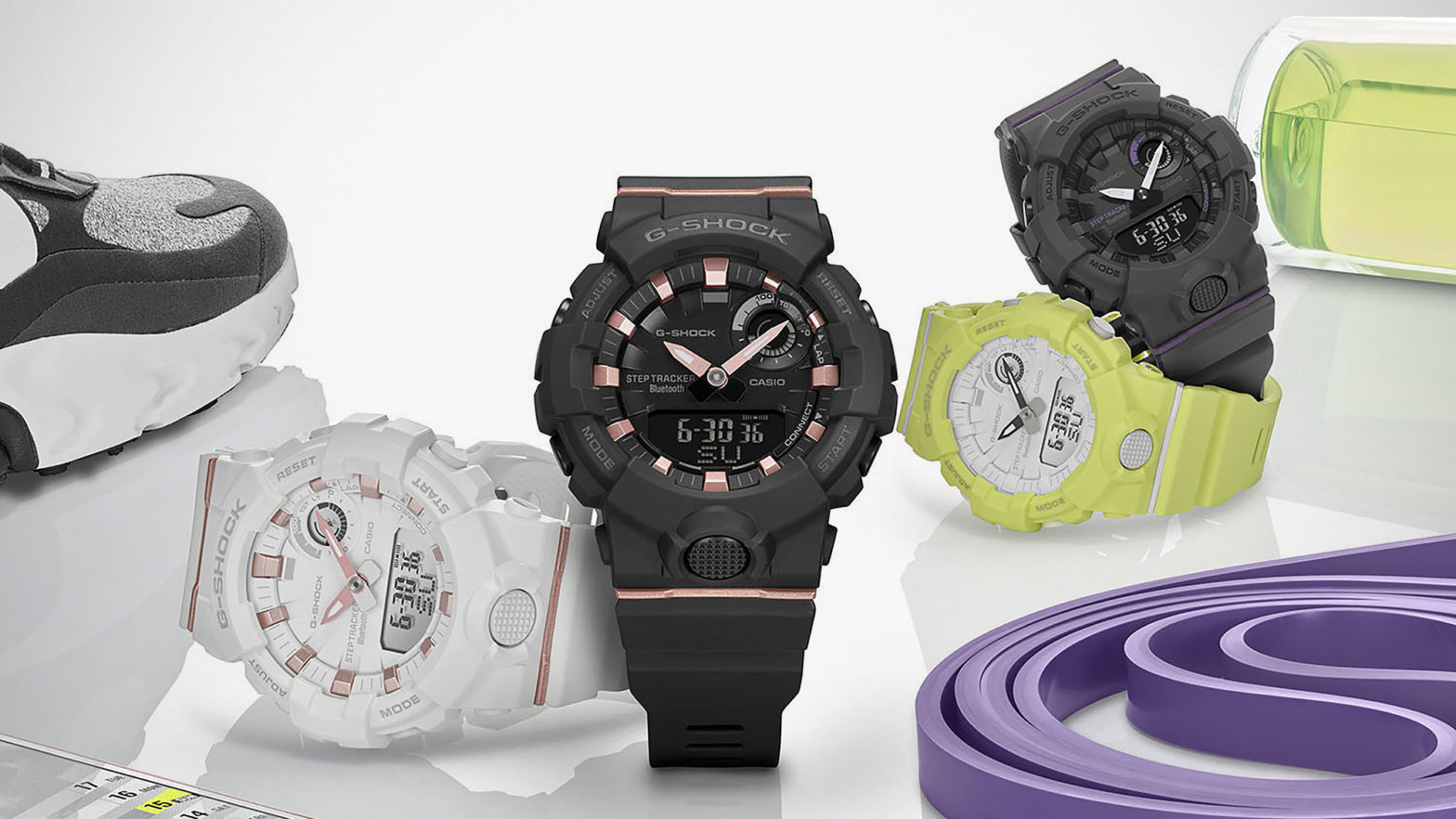 CASIO G-Shock Connected S-Series Watches