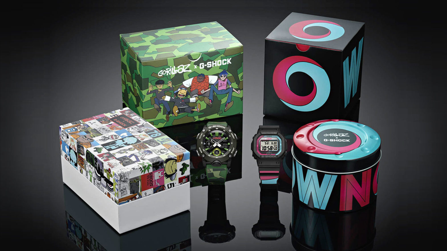 CASIO G-Shock x Gorillaz Watches