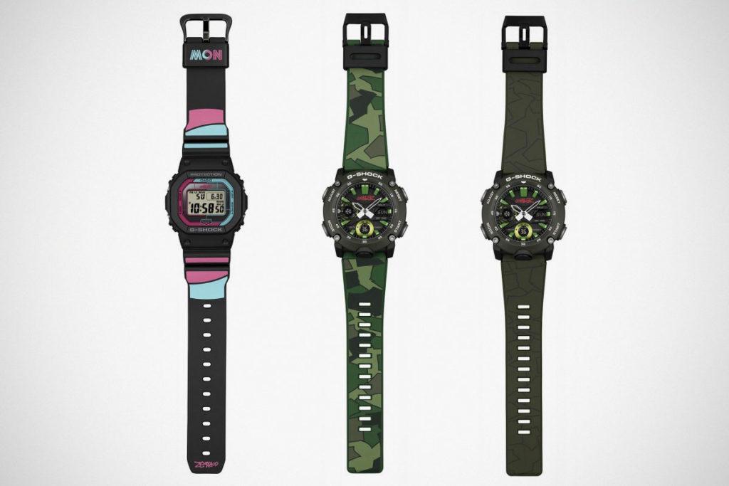 CASIO G-Shock x Gorillaz Watches