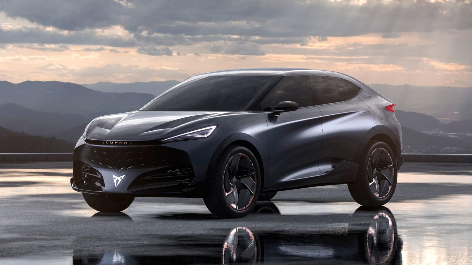 CUPRA Tavascan Concept SUV EV