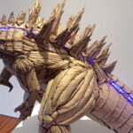 This <em>Godzilla</em> Sculpture Made From Cardboard Absolutely Blew Our Mind