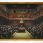 Banksy's 2009 <em>Devolved Parliament</em> Set To Become The Artist's Most Expensive Artwork