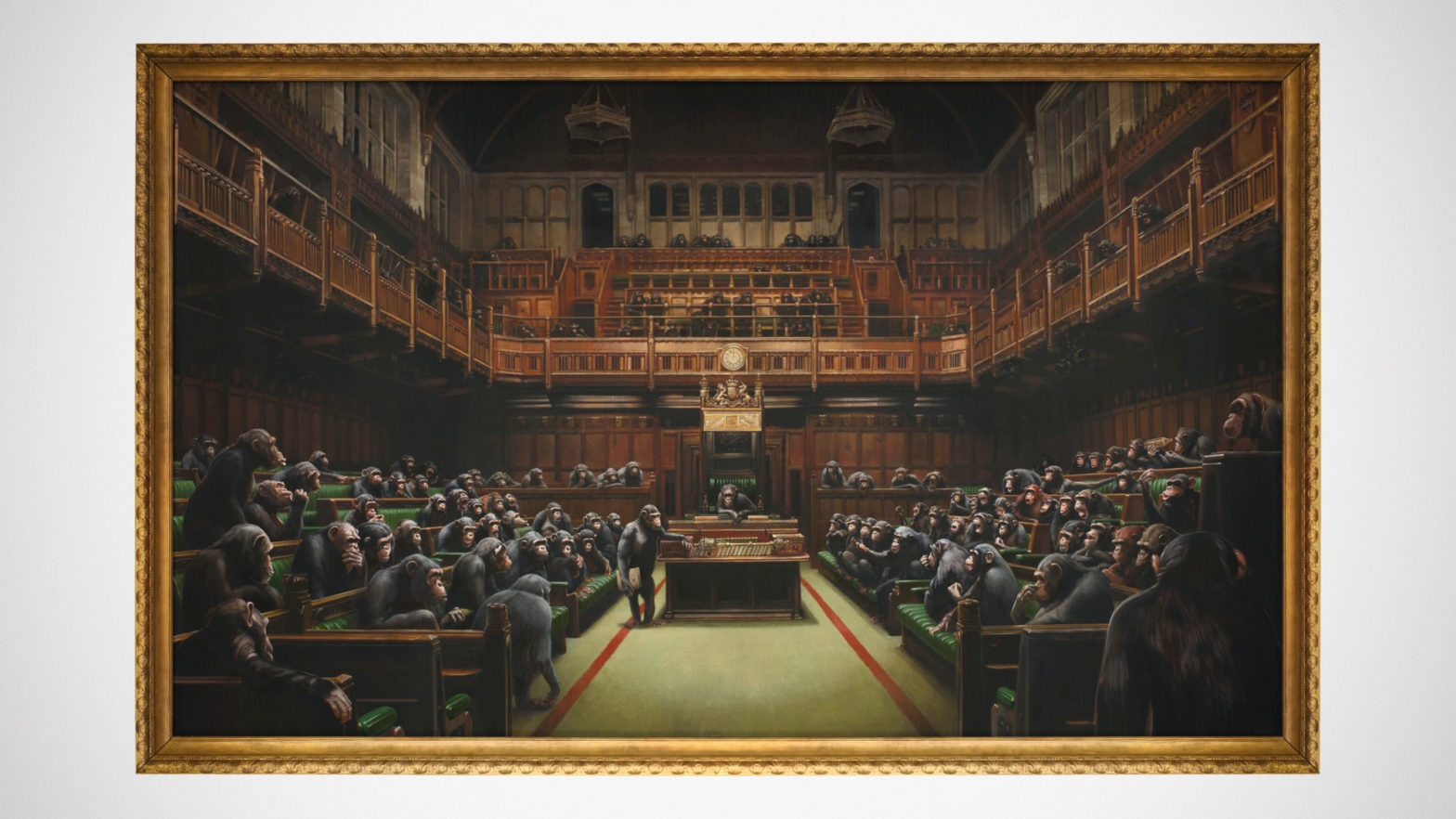 Devolved Parliament by Banksy Auction