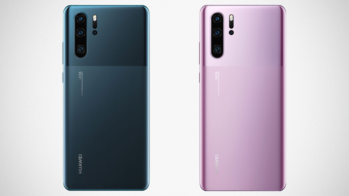 Huawei P30 Pro with Android 10