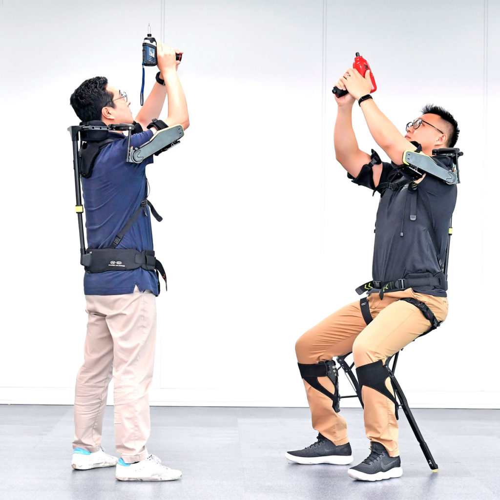 Hyundai Motor Group Wearable Exoskeleton