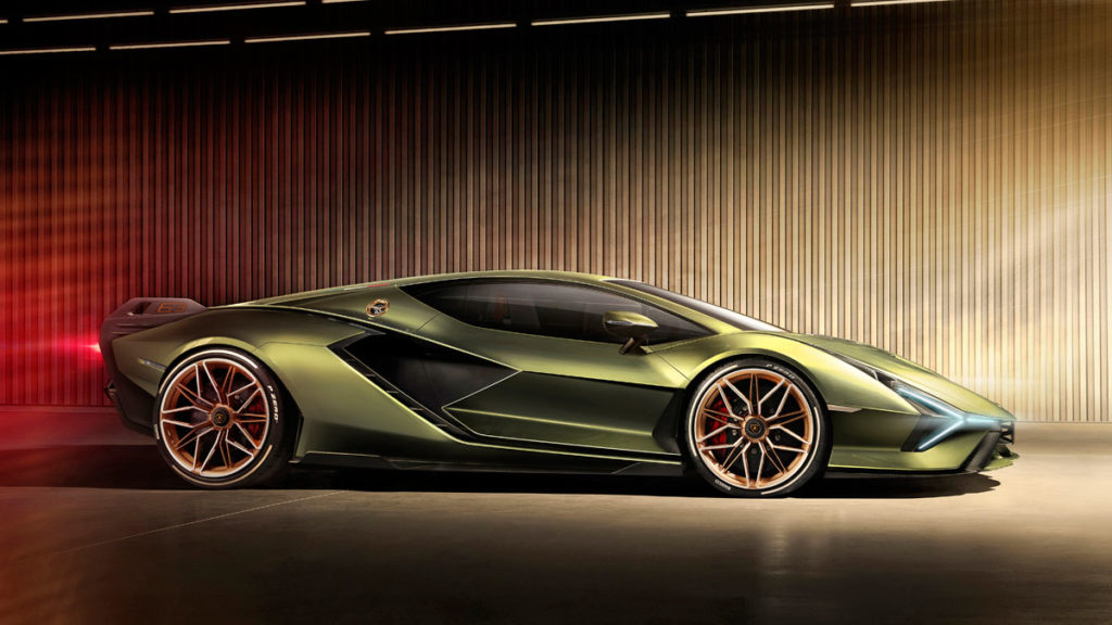 Lamborghini Sián Hybrid Supercar