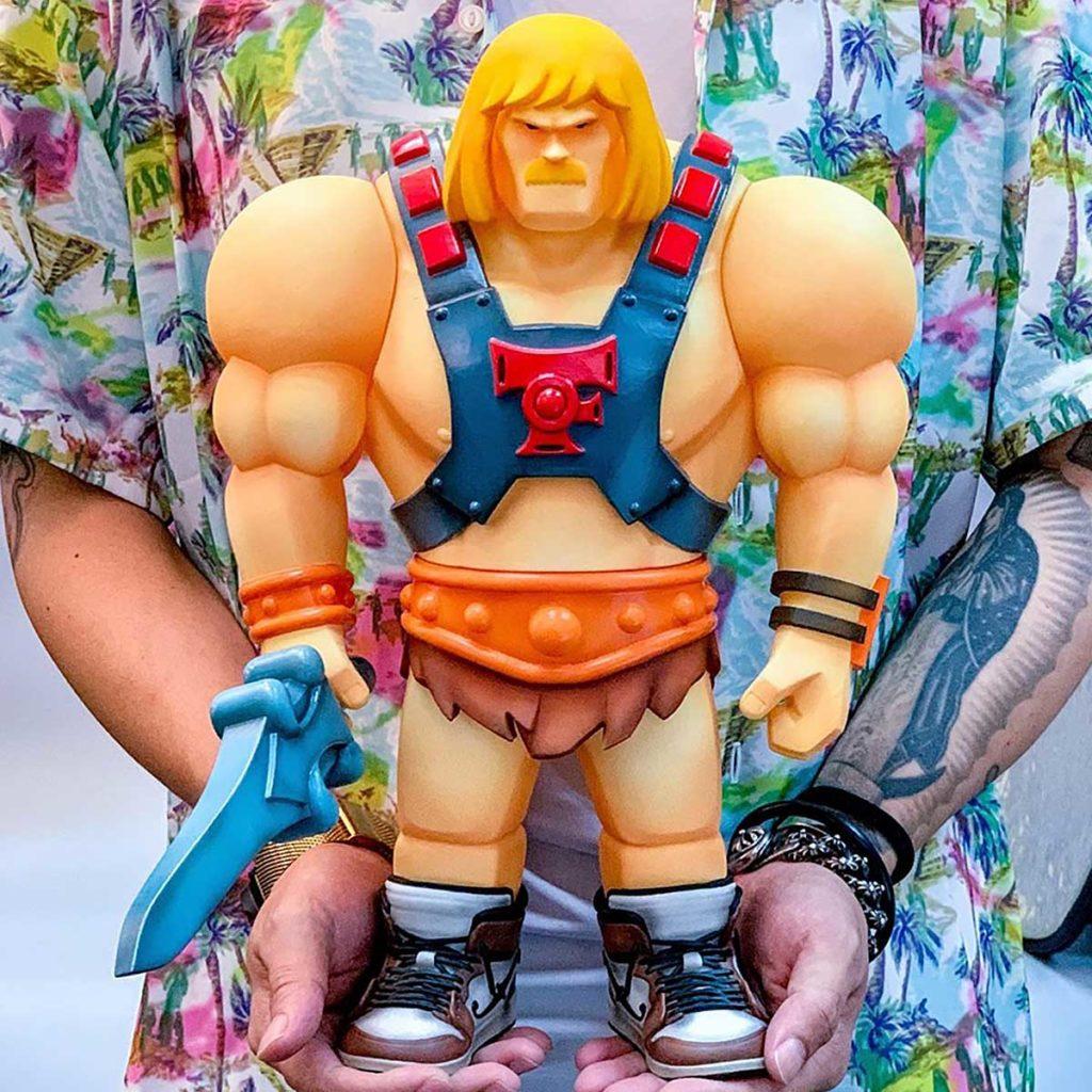 Lowfool He-Man Parody Vinyl Figure