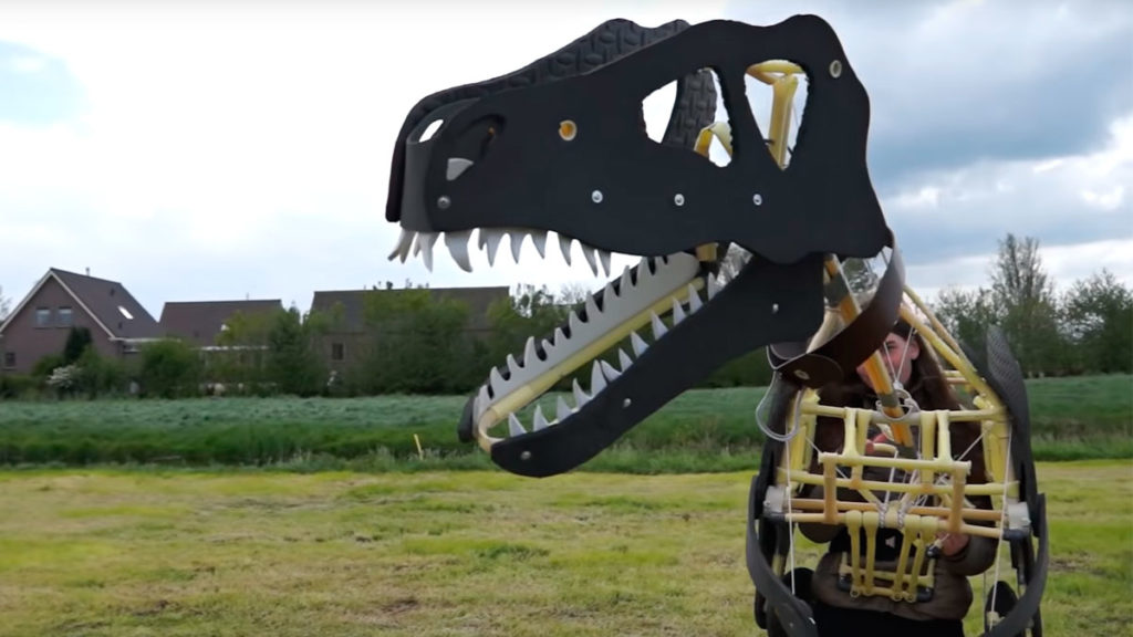 Mechanical Dinosaur Costume