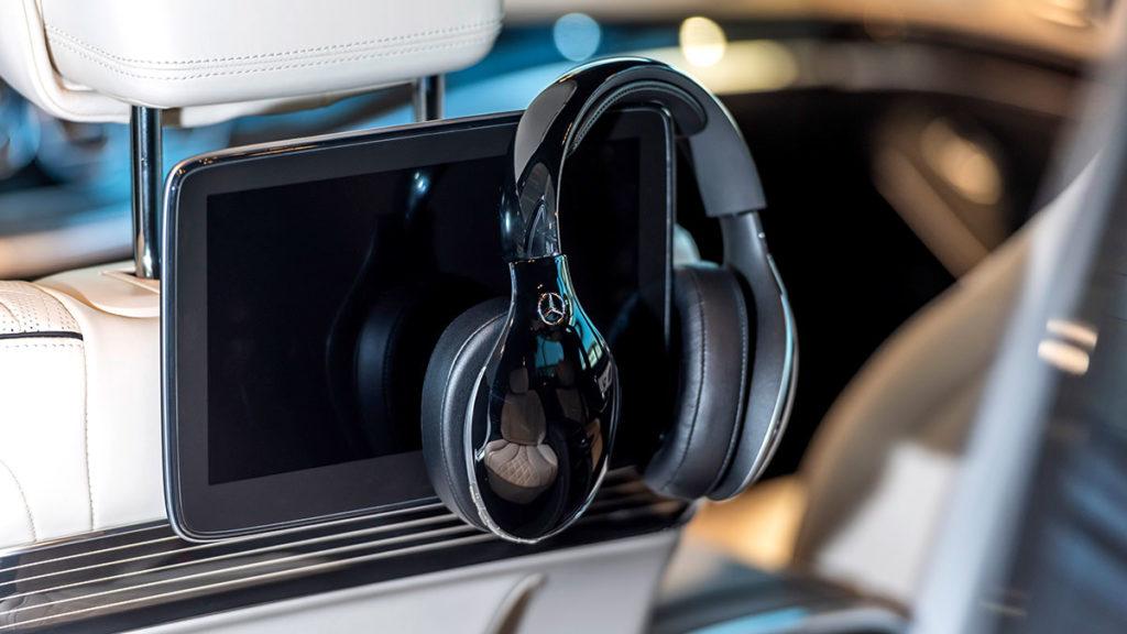 Mercedes-Benz Bluetooth Headphones