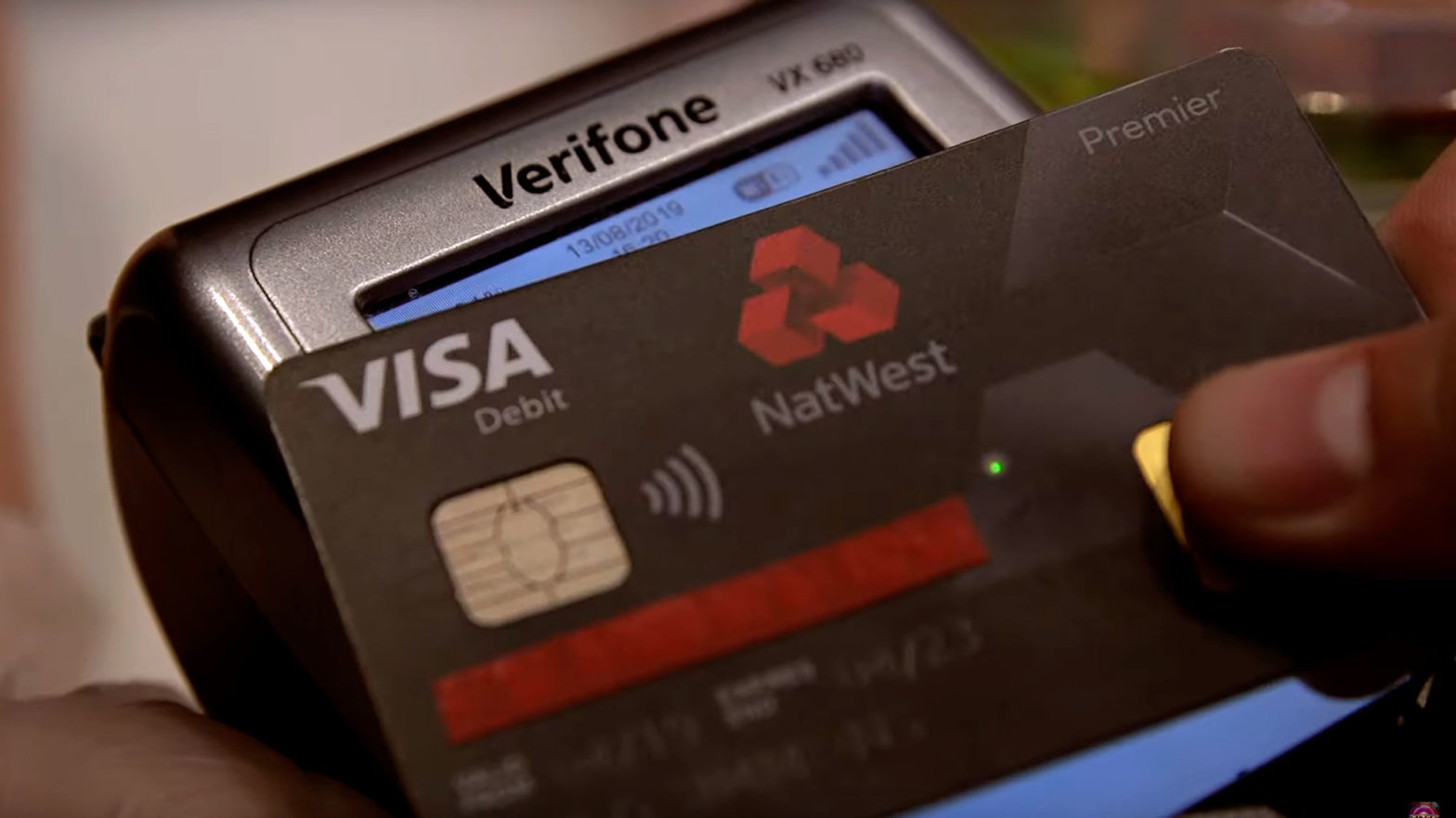 NatWest Fingerprint Debit Card
