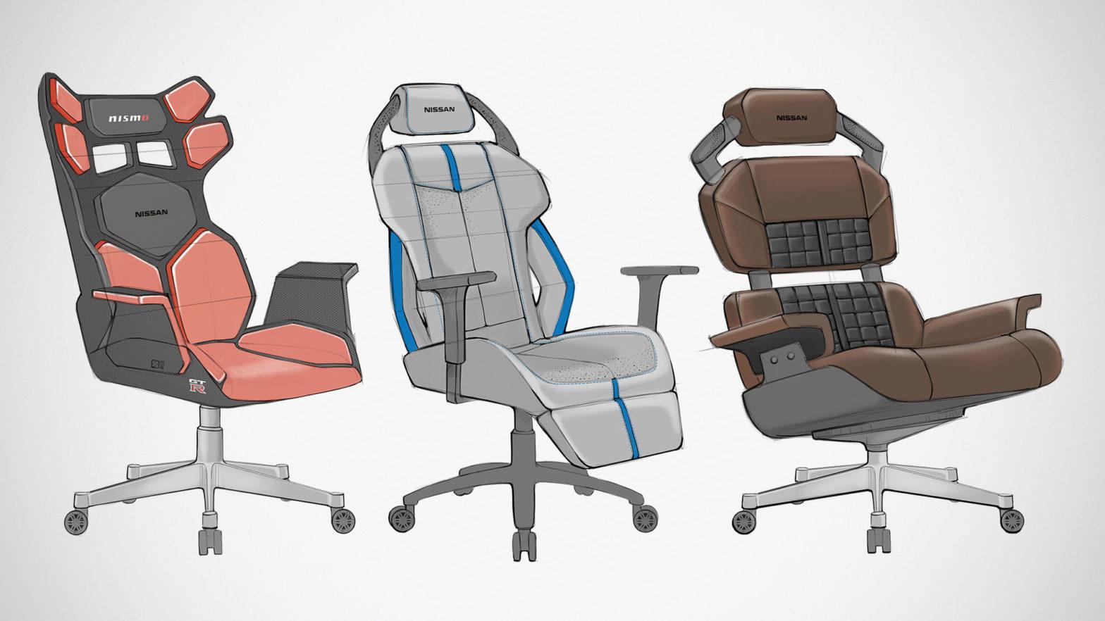 Nissan Esports Gaming Chairs