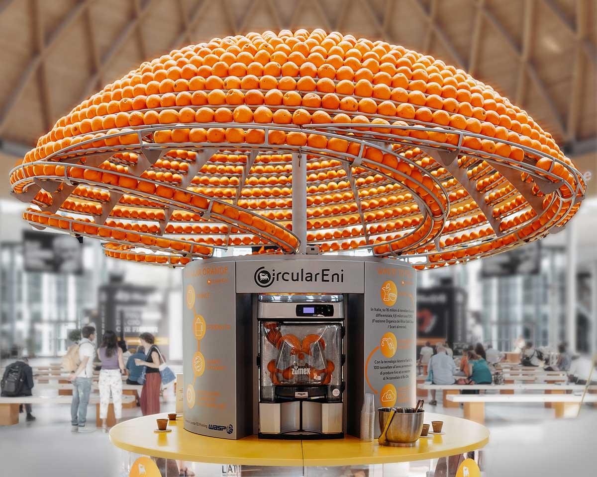 Orange Juce Machine 3D Prints Cups