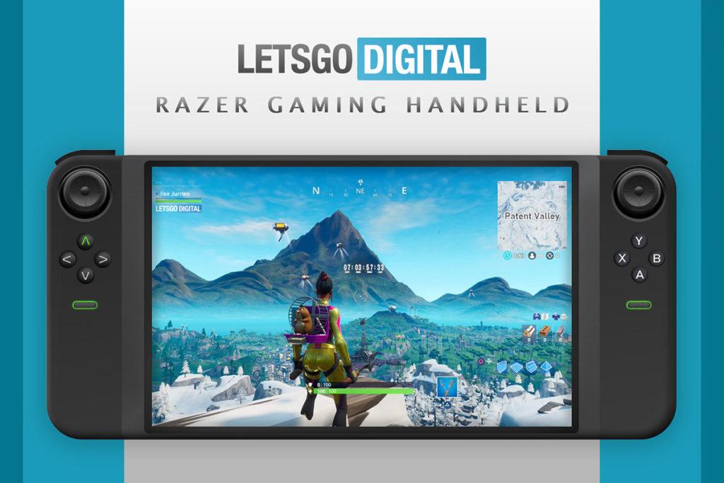 Razer Handheld Gaming Device Patent
