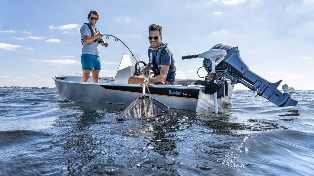 Yamaha Electric Drive MS20 Outboard Motor