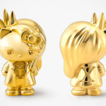 Sanrio Celebrates 10 Years Of <em>Yoshikitty</em> With 18 Karat Gold <em>Yoshikitty</em> Statuette