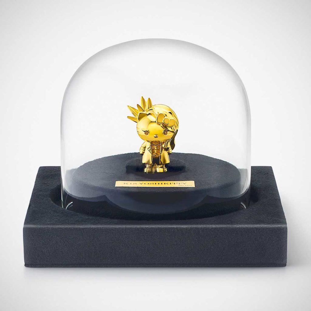 18 Karat Gold Yoshikitty Statuette