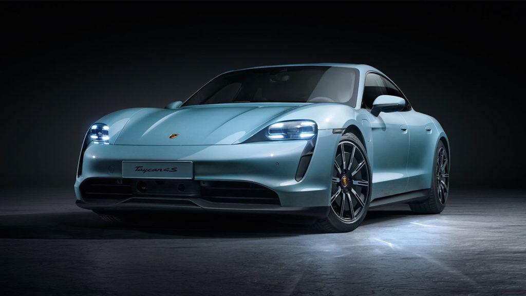 2020 Porsche Taycan 4S Electric Vehicle