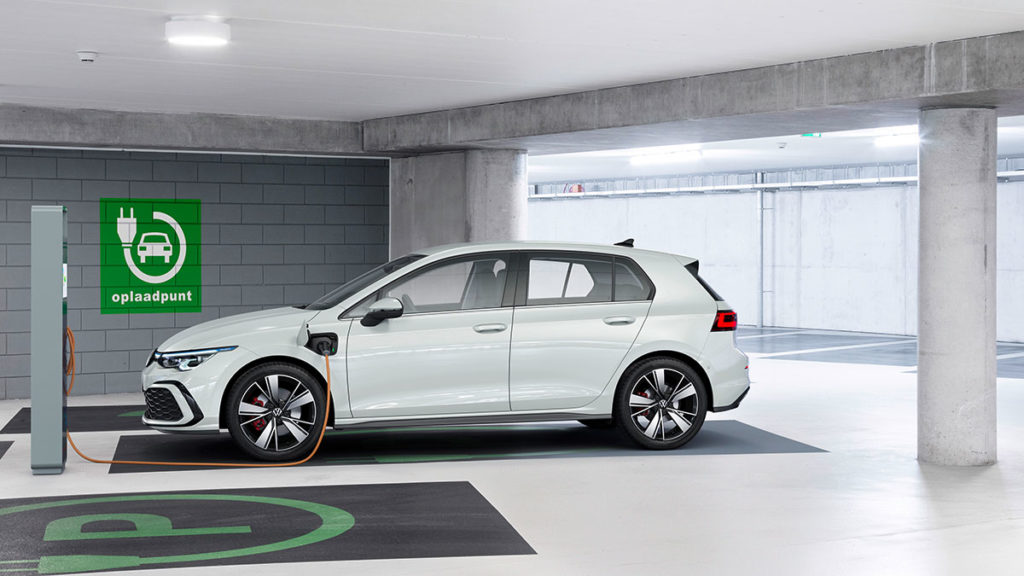 All-new Volkswagen Golf GTE Plug-in Hybrid