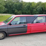 "Someone Joined Two Ford Festivas Together To Create This Awkward Looking ""Limousine"""